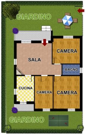 Casa indipendente in vendita a Lavagna, Lavagna, Con giardino, 100 mq