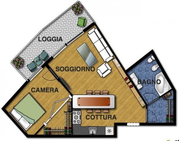 Appartamento in vendita a Lavagna, Lavagna, 60 mq