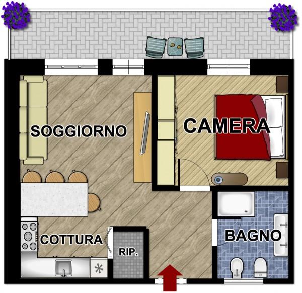 Appartamento in vendita a Lavagna, Centro, 50 mq