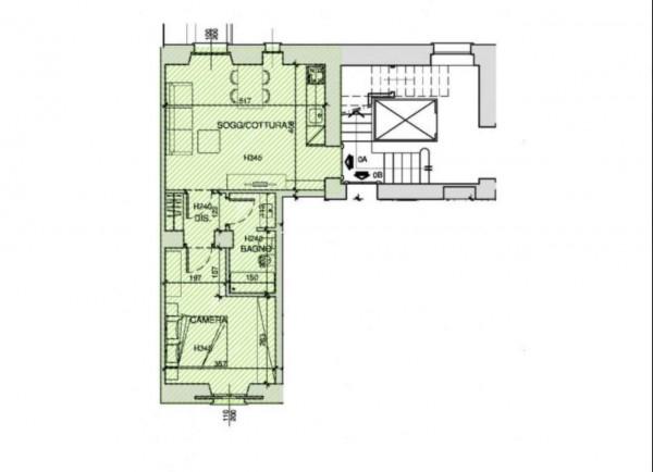 Appartamento in vendita a Milano, Washington, Con giardino, 58 mq - Foto 5