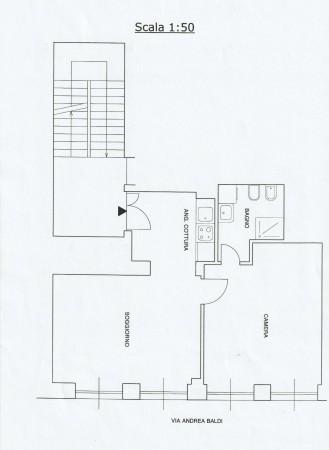 Appartamento in vendita a Roma, Balduina, 55 mq - Foto 2