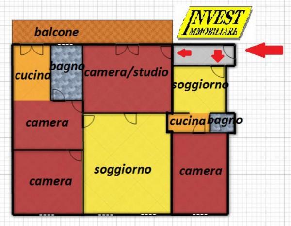 Appartamento in vendita a Torino, 157 mq