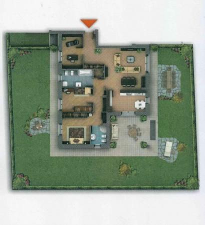 Appartamento in vendita a Paderno Dugnano, Palazzolo, Con giardino, 177 mq