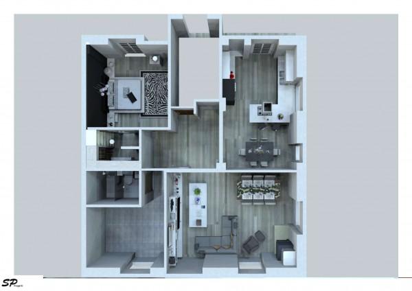 Casa indipendente in vendita a Torino, Aeronautica, Con giardino, 160 mq - Foto 17