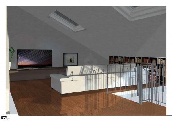 Casa indipendente in vendita a Torino, Aeronautica, Con giardino, 160 mq - Foto 10