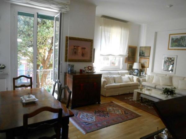 Appartamento in vendita a Genova, Adiacenze Via Byron, Con giardino, 122 mq - Foto 1