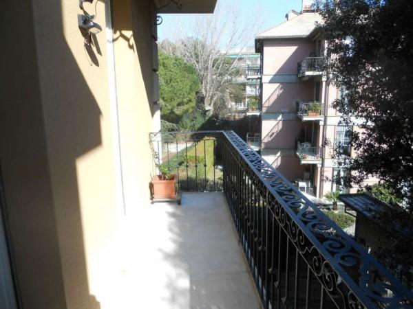 Appartamento in vendita a Genova, Adiacenze Via Byron, Con giardino, 122 mq - Foto 36