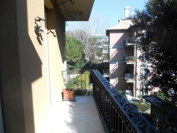 Appartamento in vendita a Genova, Adiacenze Via Byron, Con giardino, 122 mq - Foto 37