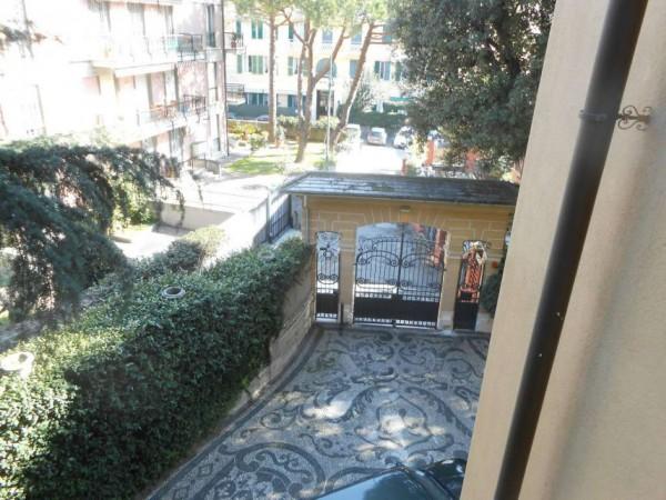 Appartamento in vendita a Genova, Adiacenze Via Byron, Con giardino, 122 mq - Foto 28