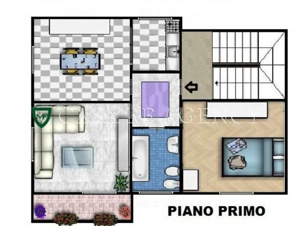 Casa indipendente in vendita a Induno Olona, Con giardino, 235 mq - Foto 5