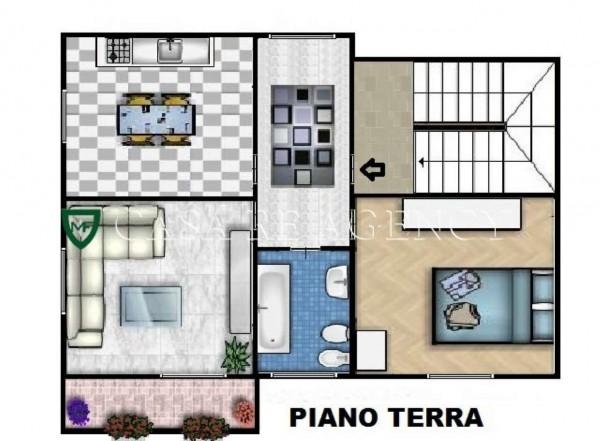 Casa indipendente in vendita a Induno Olona, Con giardino, 235 mq - Foto 3