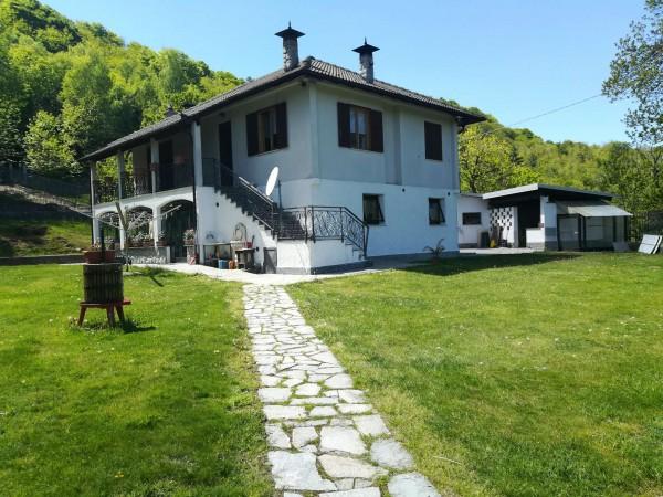 Villa in vendita a Torre Mondovì, Cattini, Con giardino, 200 mq