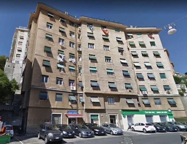 Appartamento in vendita a Genova, Marassi, 78 mq