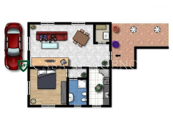Appartamento in vendita a Induno Olona, Arredato, con giardino, 79 mq - Foto 5