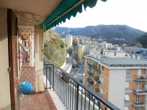 Appartamento in vendita a Genova, Adiacenze Via Emilia, 96 mq - Foto 9