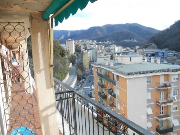 Appartamento in vendita a Genova, Adiacenze Via Emilia, 96 mq - Foto 1