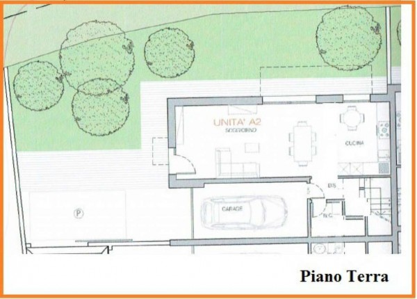 Appartamento in vendita a Albignasego, Con giardino, 150 mq - Foto 2