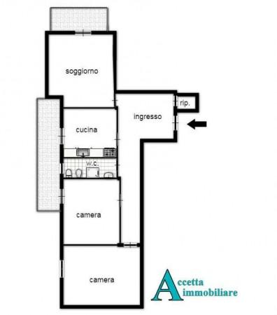 Appartamento in vendita a Taranto, Residenziale, 114 mq - Foto 2