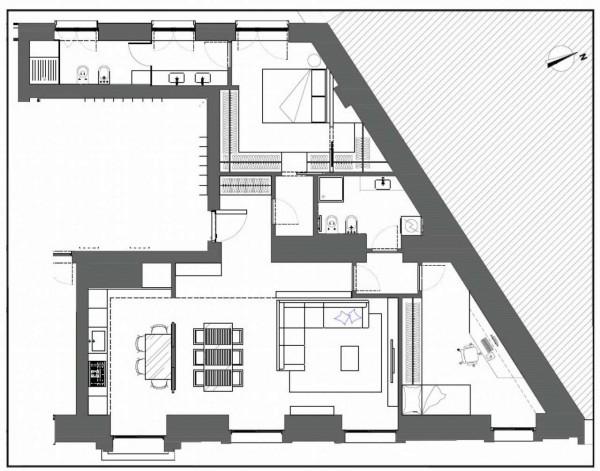 Appartamento in vendita a Milano, 132 mq - Foto 5