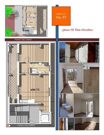 Appartamento in vendita a Milano, Piazzale Martini, Con giardino, 72 mq - Foto 2