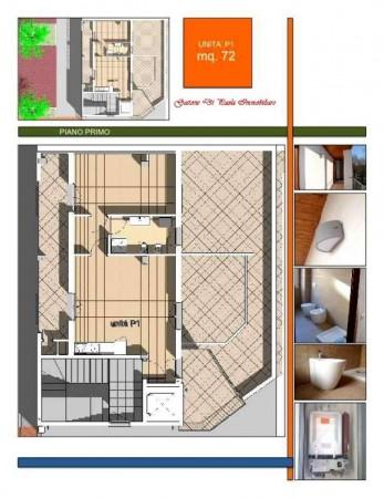 Appartamento in vendita a Milano, Piazzale Martini, Con giardino, 72 mq - Foto 4