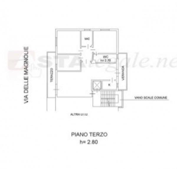Appartamento in vendita a Prato, 140 mq - Foto 2