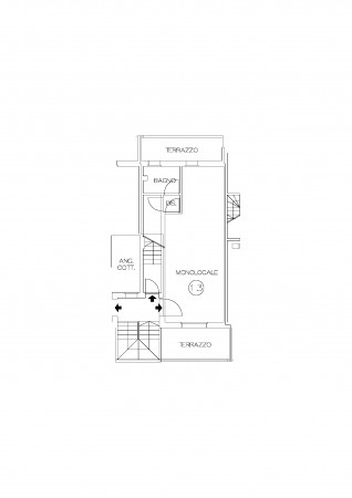 Monolocale in vendita a Cervia, Pisignano, 52 mq - Foto 10
