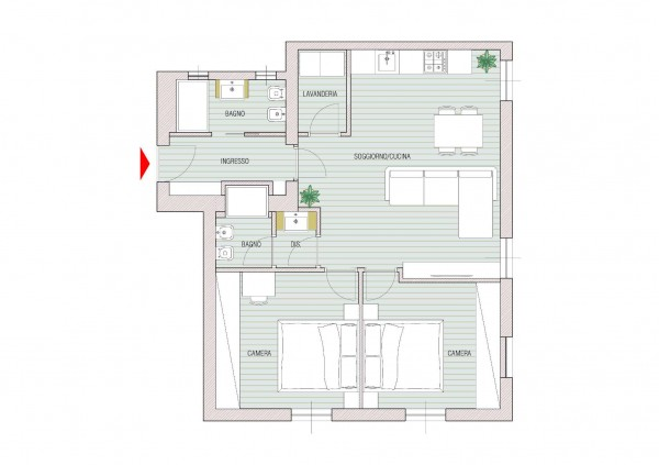 Appartamento in vendita a Milano, Lambrate, 85 mq - Foto 13