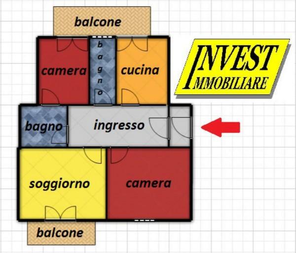 Appartamento in affitto a Torino, Cit Turin, Arredato, 100 mq - Foto 19