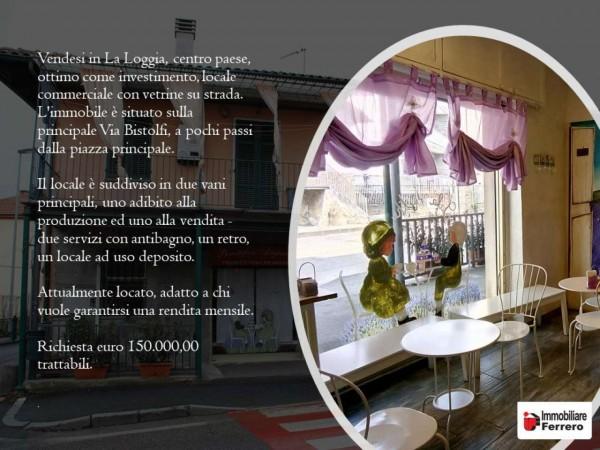 Locale Commerciale  in vendita a La Loggia, Centralissima, 101 mq - Foto 2