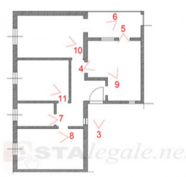 Appartamento in vendita a Prato, 87 mq - Foto 2