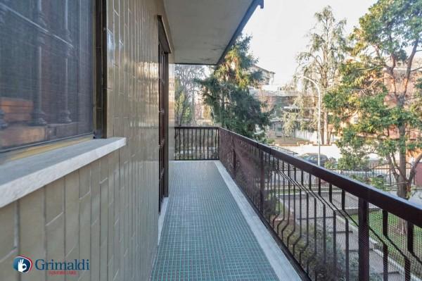 Appartamento in vendita a Milano, Arredato, con giardino, 150 mq - Foto 17