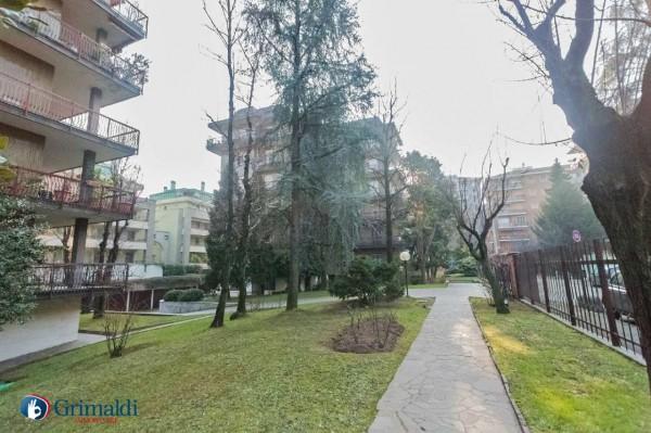 Appartamento in vendita a Milano, Arredato, con giardino, 150 mq - Foto 37