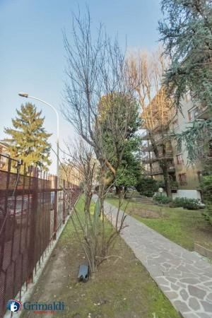 Appartamento in vendita a Milano, Arredato, con giardino, 150 mq - Foto 5