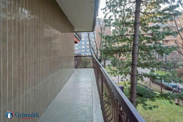 Appartamento in vendita a Milano, Arredato, con giardino, 150 mq - Foto 16