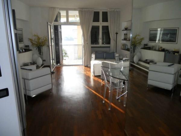 Appartamento in vendita a Rapallo, Grand'hotel Bristol, Con giardino, 77 mq - Foto 5