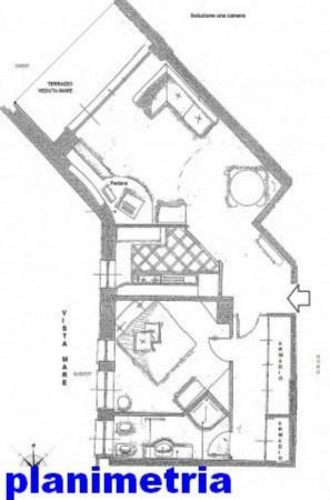 Appartamento in vendita a Rapallo, Grand'hotel Bristol, Con giardino, 77 mq - Foto 2