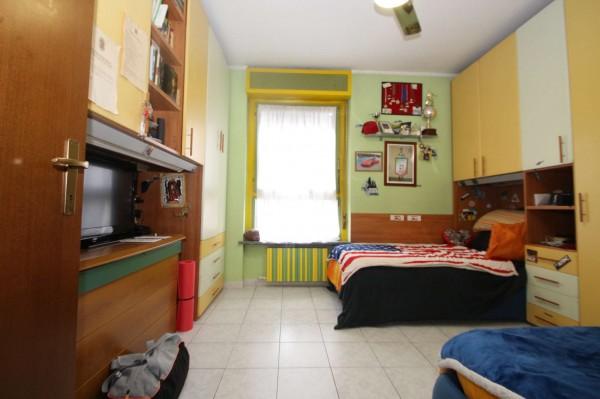 Appartamento in vendita a Torino, Rebaudengo, Con giardino, 90 mq - Foto 8