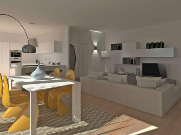 Appartamento in vendita a Inzago, Con giardino, 61 mq - Foto 11