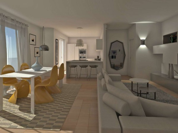 Appartamento in vendita a Inzago, Con giardino, 61 mq - Foto 23