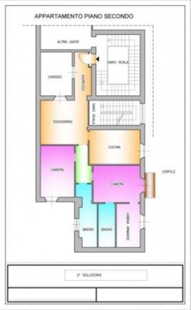 Appartamento in vendita a Milano, Tamburini, 120 mq - Foto 5