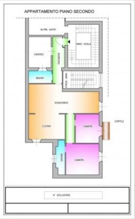 Appartamento in vendita a Milano, Tamburini, 120 mq - Foto 3