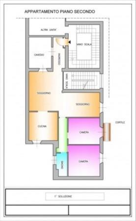 Appartamento in vendita a Milano, Tamburini, 120 mq - Foto 6