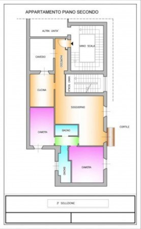 Appartamento in vendita a Milano, Tamburini, 120 mq - Foto 4