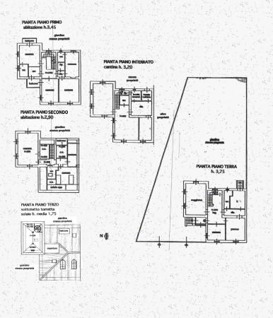 Villa in vendita a Milano, Con giardino, 500 mq - Foto 9