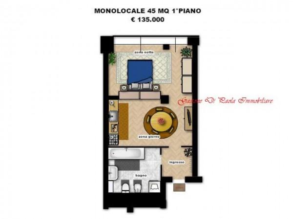 Appartamento in vendita a Milano, Precotto, Con giardino, 71 mq - Foto 2