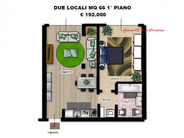 Appartamento in vendita a Milano, Precotto, Con giardino, 71 mq - Foto 6