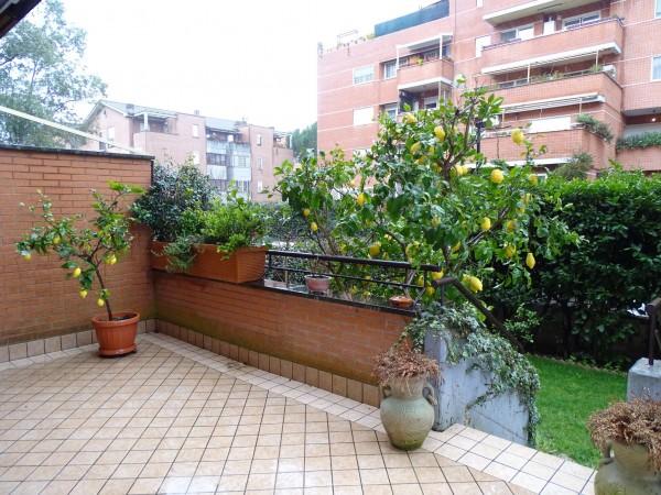 Appartamento in vendita a Roma, Colle Parnaso, Con giardino, 125 mq - Foto 5