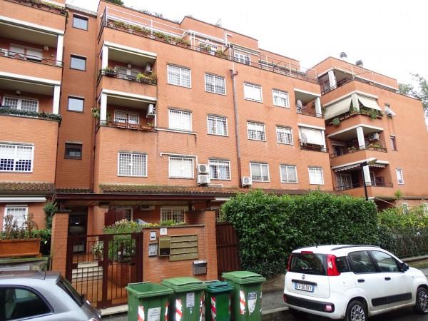 Appartamento in vendita a Roma, Colle Parnaso, Con giardino, 125 mq