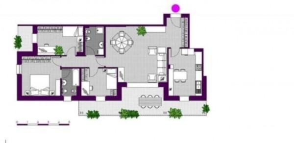 Appartamento in vendita a Milano, Ripamonti - Periferia, Con giardino, 147 mq - Foto 2